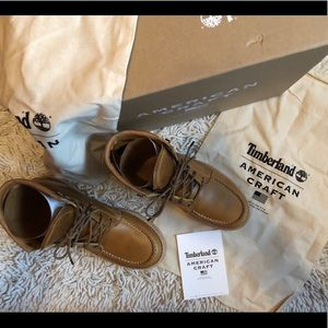 New American craft timberland boot